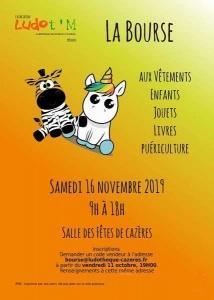 Bourse vêtements enfants, jouets, livres, puériculture à Cazères