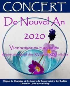 Concert du Nouvel An à Miramont de Comminges