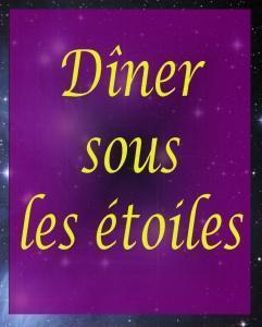 Diner Sous Les Étoiles - Latrape