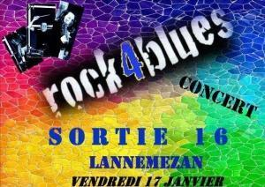 Rock 4 Blues au Sortie 16 Lannemezan